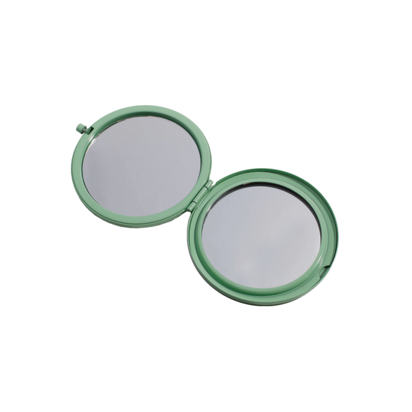 Aqua Compact Mirror - Favor & Fern