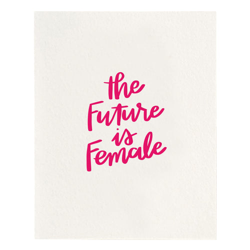 Future is Female Print - Favor & Fern