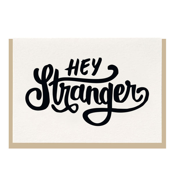 Hey Stranger Card - Favor & Fern