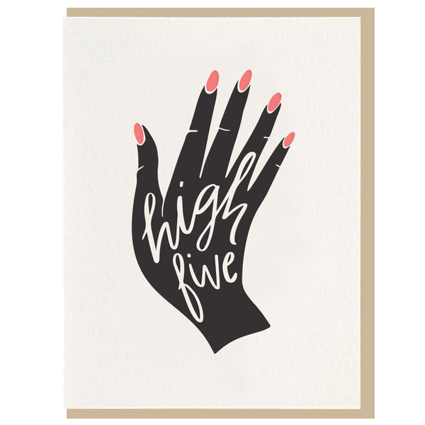 High Five Card - Favor & Fern