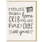 Home Casa Housewarming Card