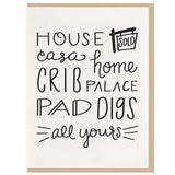 Home Casa Housewarming Card - Favor & Fern
