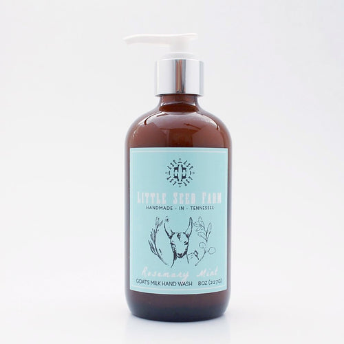 Rosemary Mint Goat's Milk Hand Wash