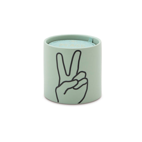 Peace Sign Lavender & Thyme Candle - Favor & Fern