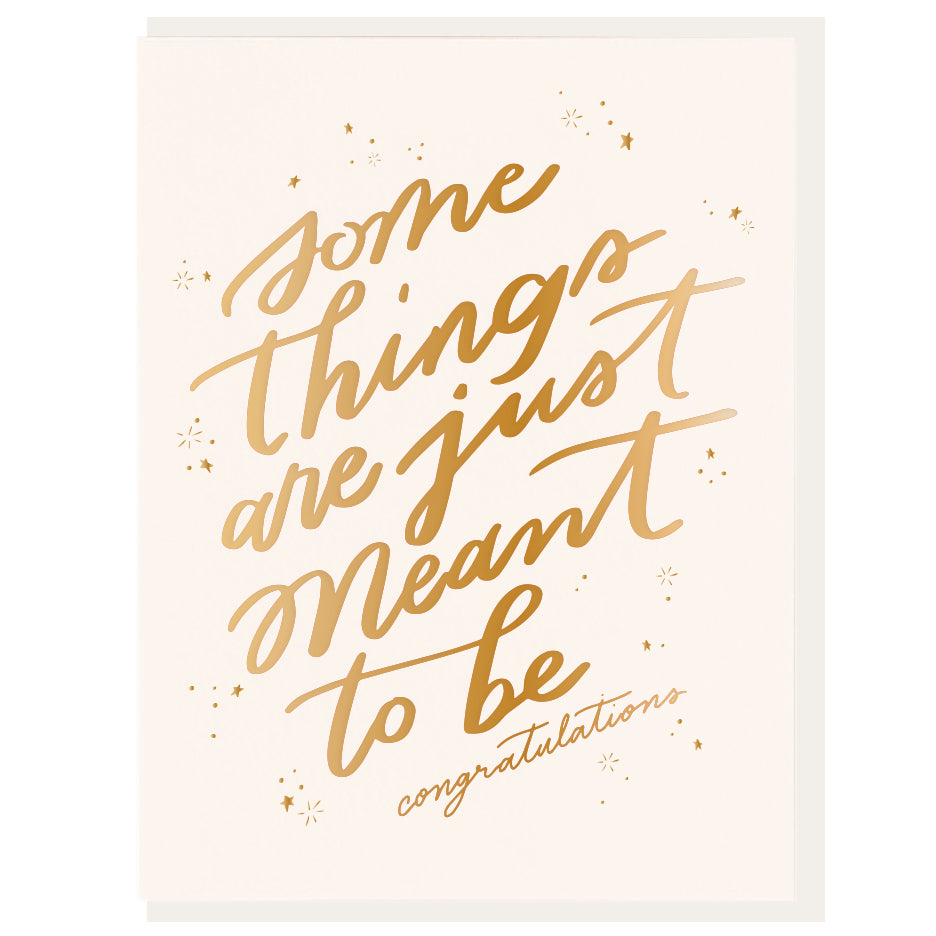 Some Things Are Meant To Be Card – Favor & Fern