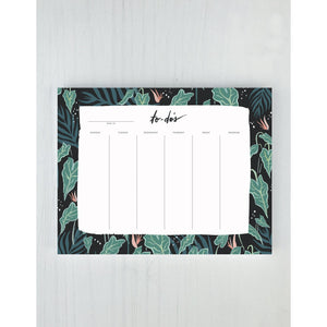 Load image into Gallery viewer, Lush Greens Desk Pad - Favor & Fern