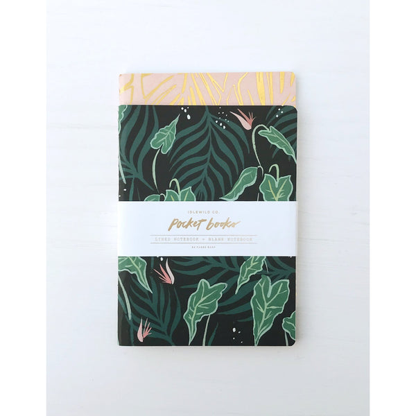 Lush Greens Pocket Notebook Set