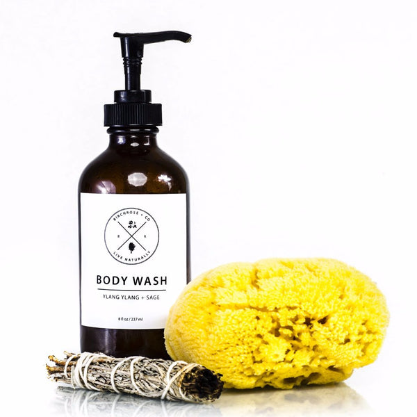 Ylang Ylang + Sage Body Wash