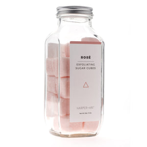Load image into Gallery viewer, Rosé Sugar Scrub Bottle