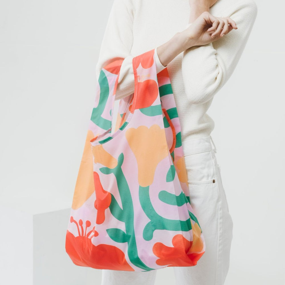 Floral Reusable Bag - Favor & Fern