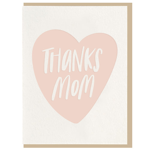 Thanks Mom Card - Favor & Fern