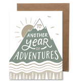 Another Adventure Letterpress Card