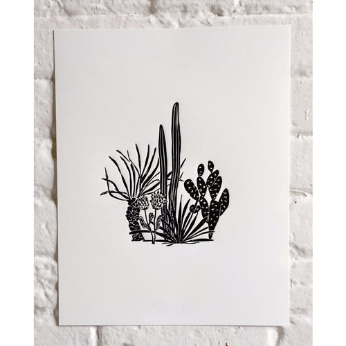 Cactus No. 2 Print - Favor & Fern