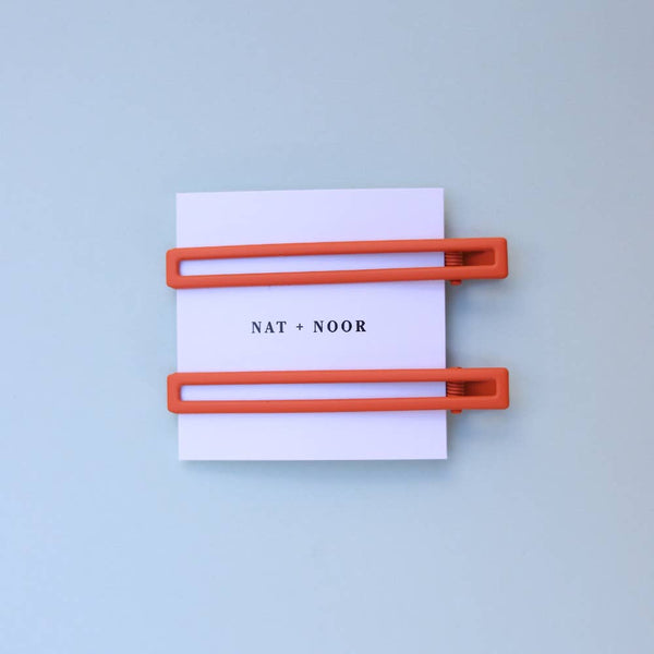 Clementine Duo Hair Clip Set