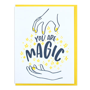 You Are Magic Greeting Card - Favor & Fern