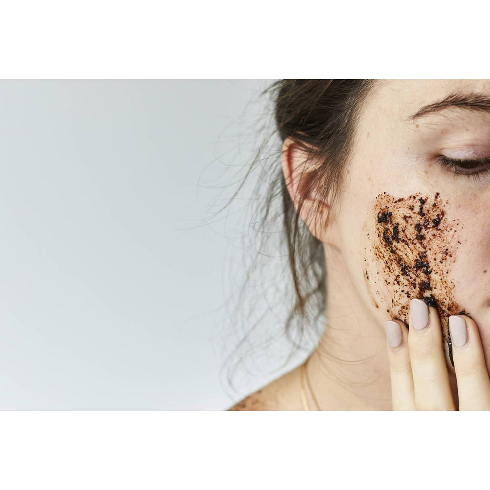 Coffee + Citrus Face Scrub