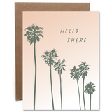 Hello There Letterpress Card