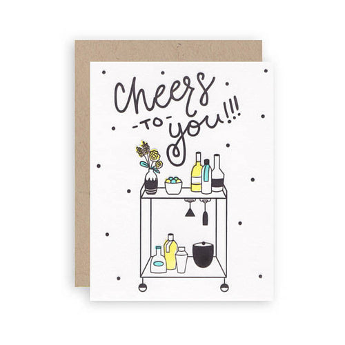 Cheers To You!!! Card - Favor & Fern