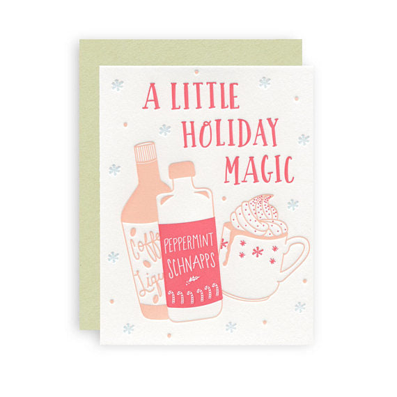 A Little Holiday Magic Card - Favor & Fern