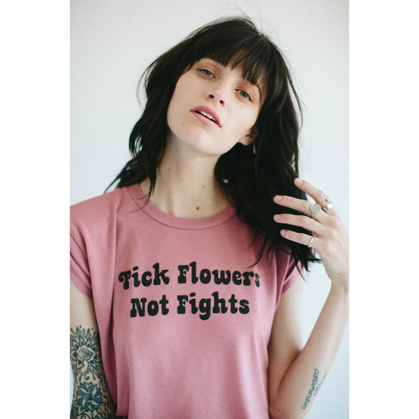 pick flowers shirt