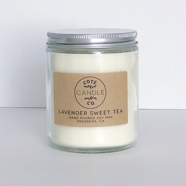 Lavender Sweet Tea Soy candle - Favor & Fern