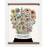 Wildflowers of North America Print