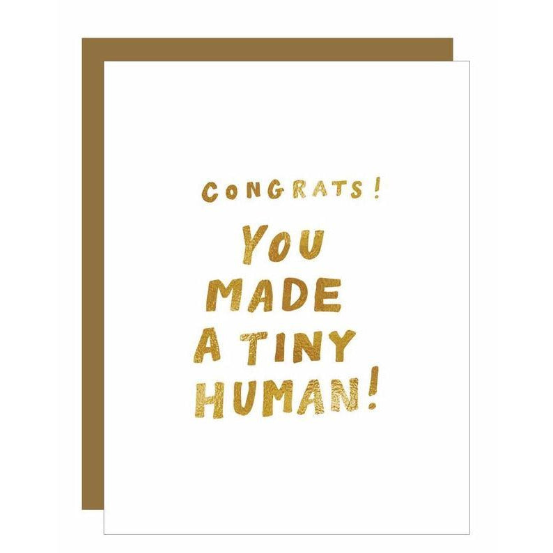 Load image into Gallery viewer, Tiny Human Foil Card - Favor & Fern