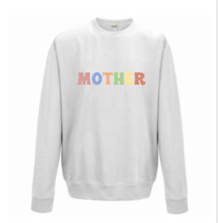 MOTHER | UNISEX WHITE SWEATER
