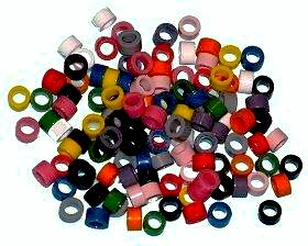 Colour Coded Rings