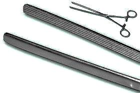 Mayo Robson Forceps - Vertical/longitudinal Striations