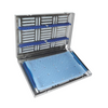 Stainless Steel Sterilization Tray, Large with Mat