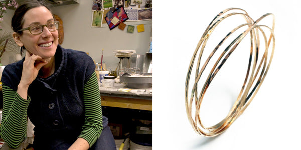 Rebecca Zemans Lillstreet Gallery From the Heart Market Orbit Bangle