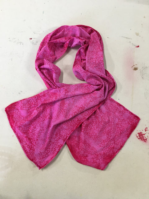 Lightweight Screenprinted Scarf - Multiple Colors