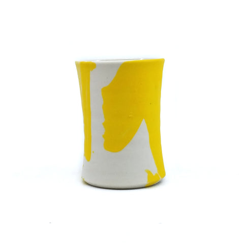 Yellow F That Shot Glass