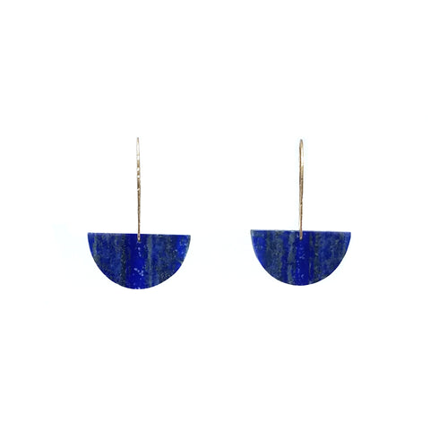 Single Lapis Lazuli Earrings