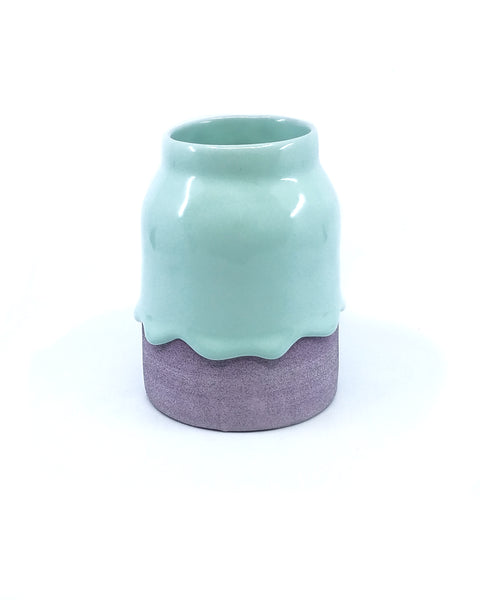 Mint / Grape Vase