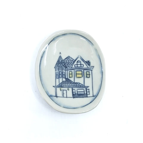 Tiny Oval Dish - Home