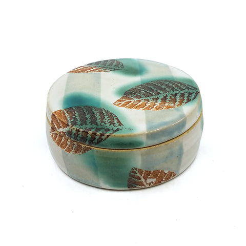 Leaf Clam Jar