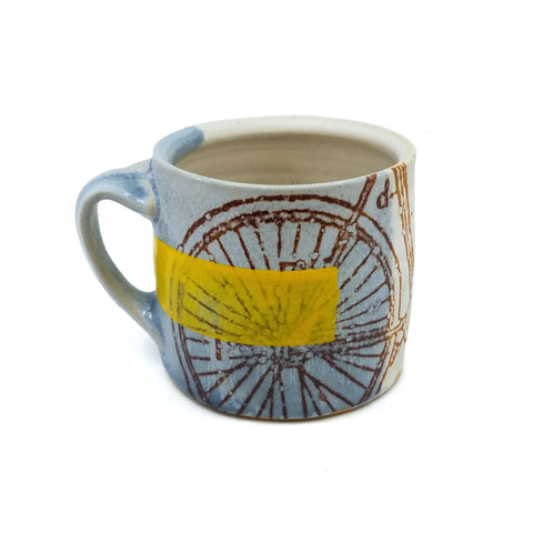 Bike w/ Yellow Mug