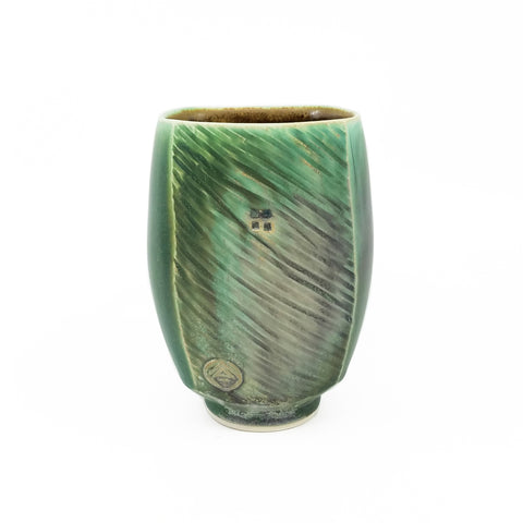 Dark Green Tall Cup