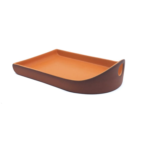 Flat Back Tray - Orange