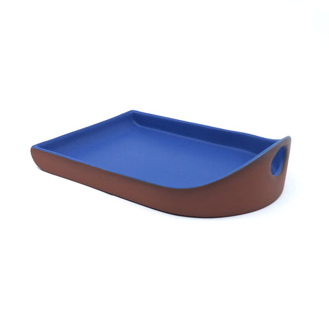 Flat Back Tray - Blue