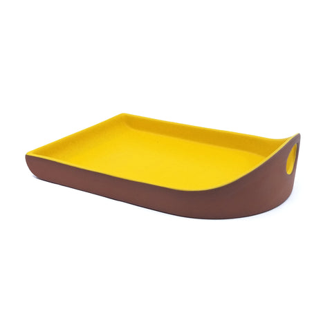 Flat Back Tray - Sunflower