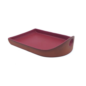 Flat Back Tray - Red