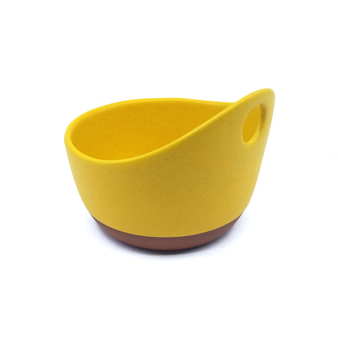 Handle Soup Bowl - Sunflower