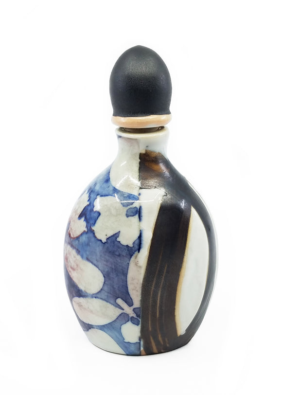 Flask with Manzanita Motif