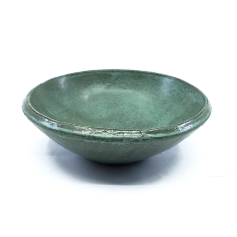 Low Teal Bowl 1