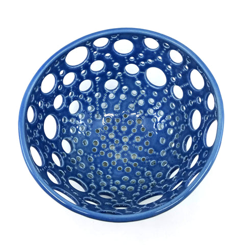 Blue Collander