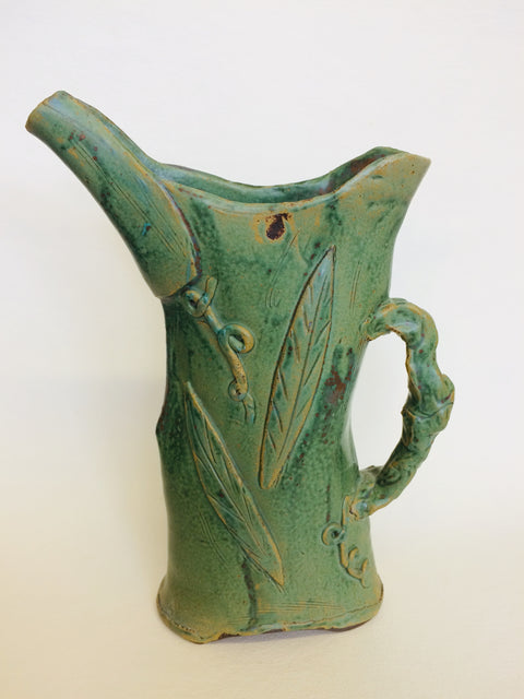 Slab Pitcher w/ Leaves