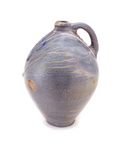 Anagama fired heavy ash glazed 2 gallon jug handmade by Nick Schwartz.